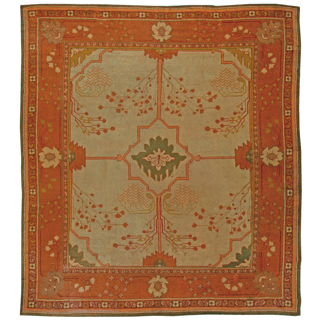 Arts and crafts rug at 1stdibs for Arts and crafts style rug