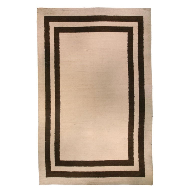 Vintage Modern Art Deco Rug At 1stdibs