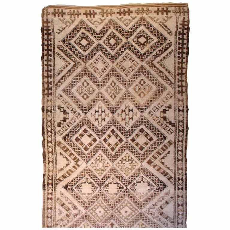 Vintage Moroccan Area Rug For Sale At 1stdibs
