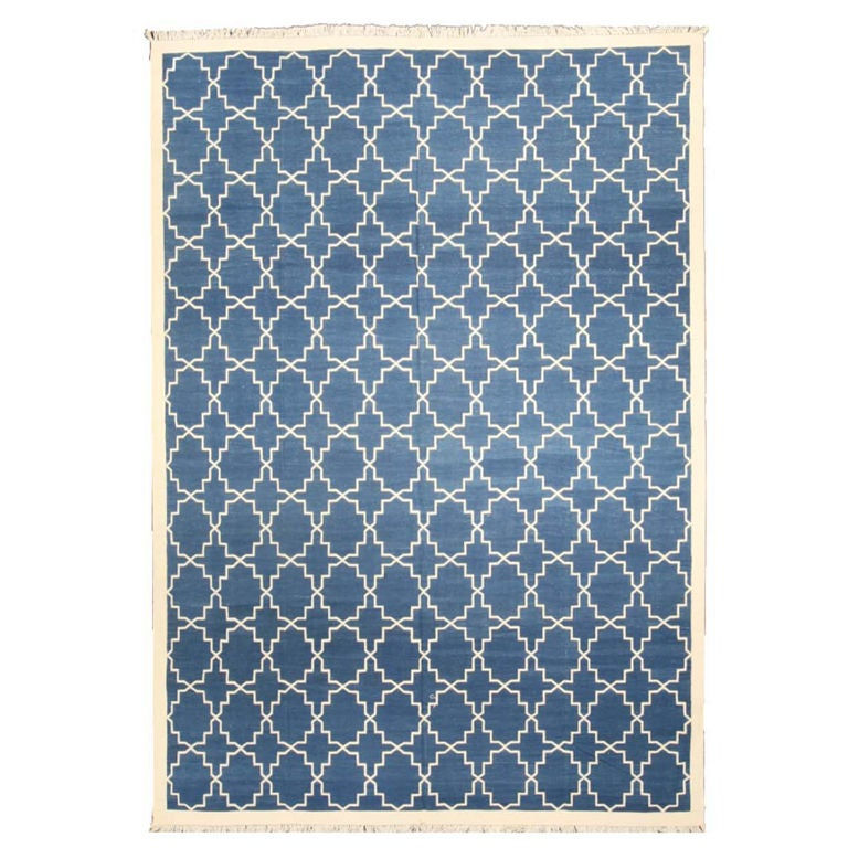 Dhurrie Area Rug 8 X 10 At 1stdibs