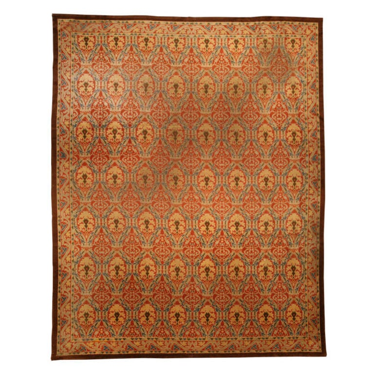 1930 S Spanish Area Rug At 1stdibs