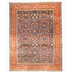 Antique Persian Sultanabad Rug, Early 20th Century