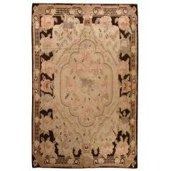 Antique Samarkand Rug 6 x 9