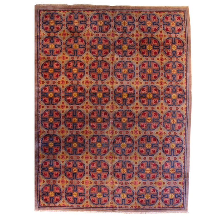 Mid Century Modern Rugs: Mid Century Modern Chinese Deco Rug At 1stdibs