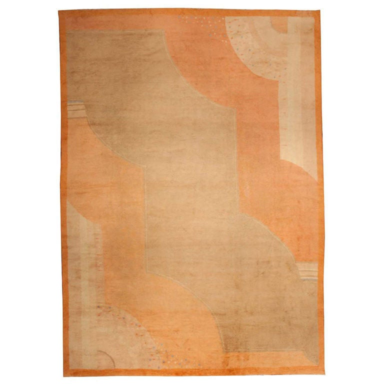 Art deco rug at 1stdibs for Deco rugs carpet
