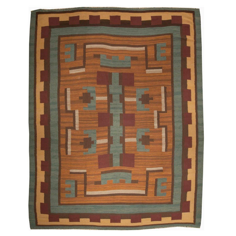Mid 20th Century Modern Scandinavian Area Rug At 1stdibs: Mid Century Modern Swedish Rug At 1stdibs