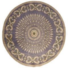 A French Deco Rug Signed Leleu