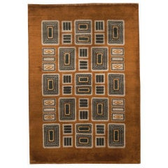 A French Art Deco Rug Designed By Paule Leleu
