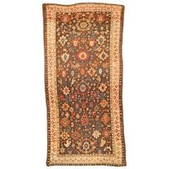 Antique Karabagh Runner, Late 19th Century