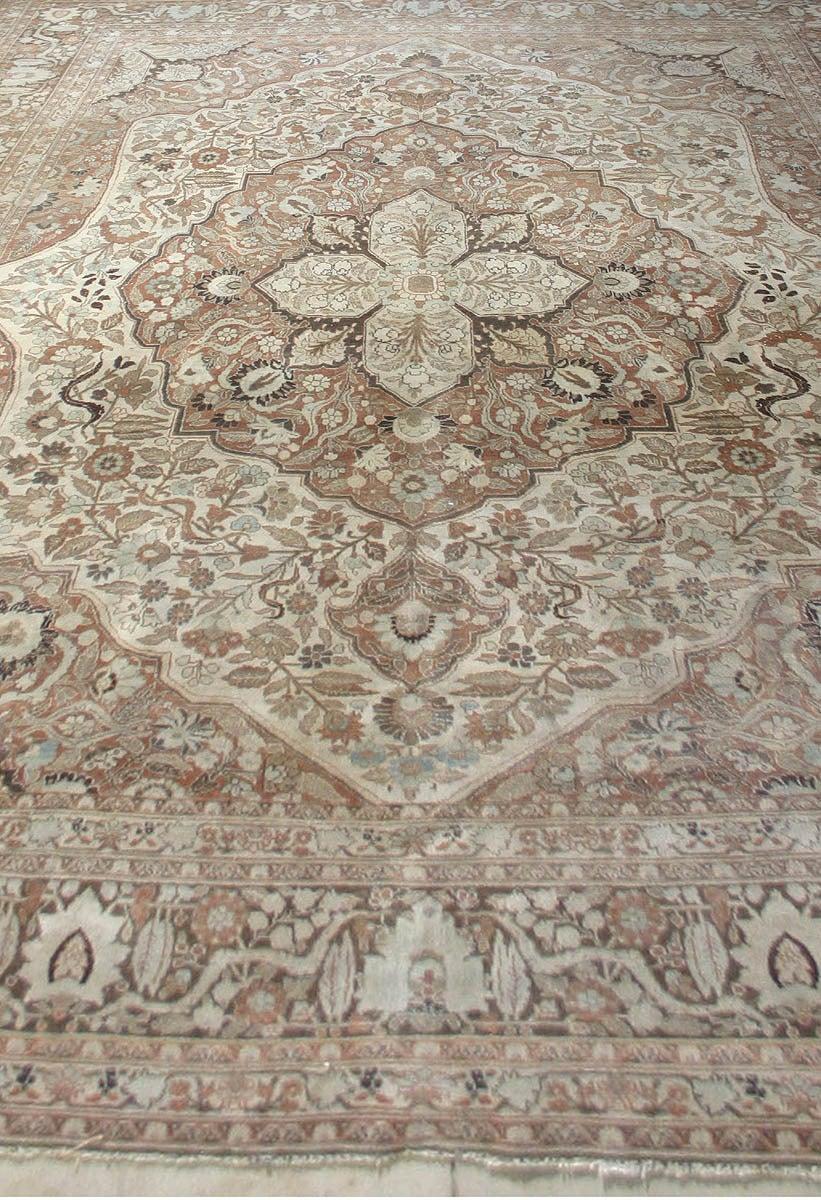 Antique Persian Tabriz Rug 3