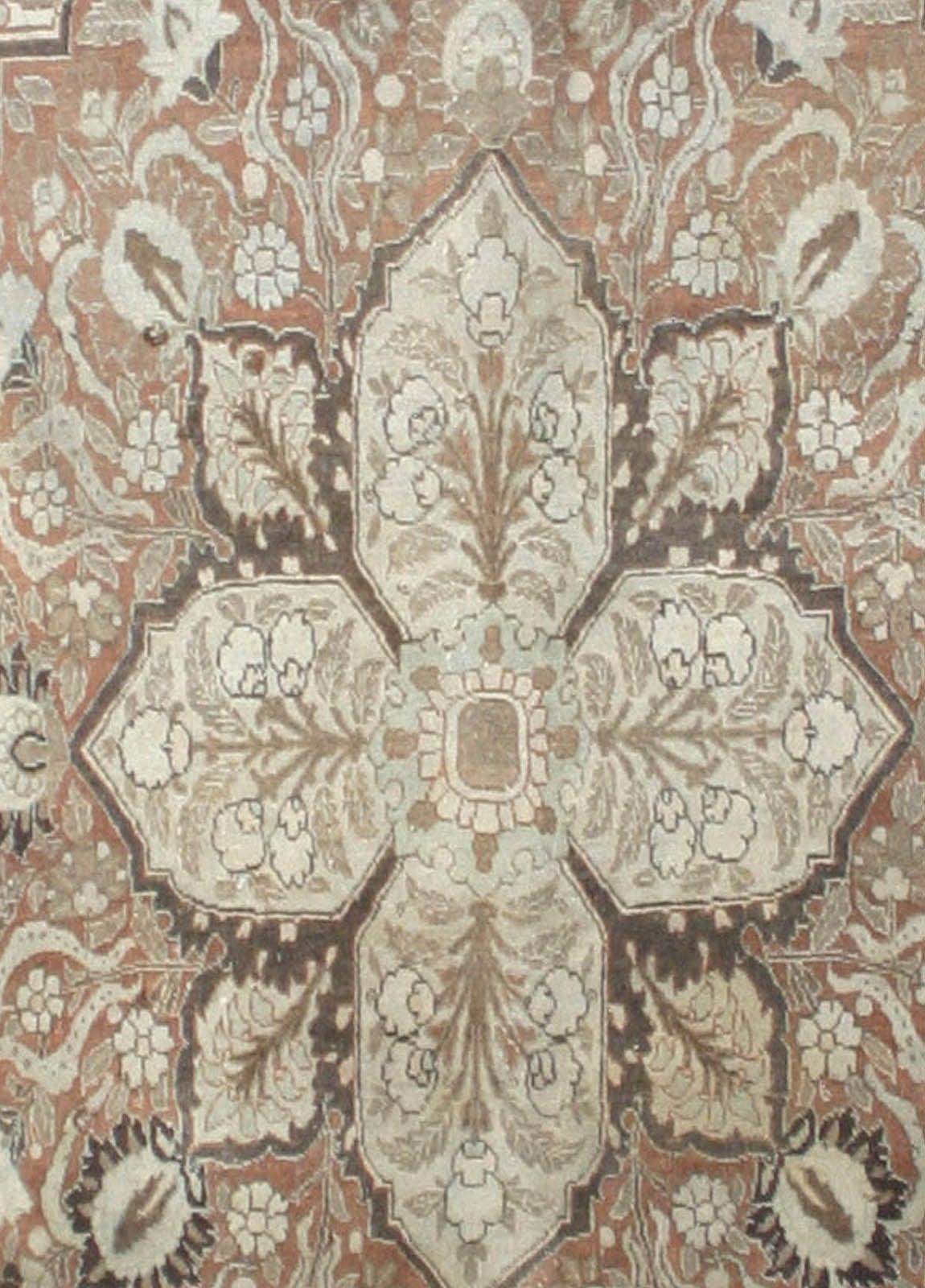 Antique Persian Tabriz Rug 6