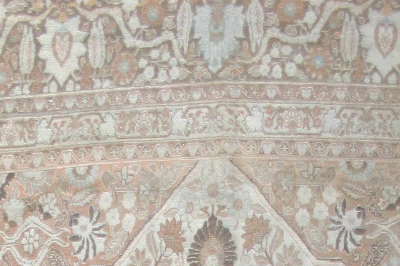 Antique Persian Tabriz Rug 7