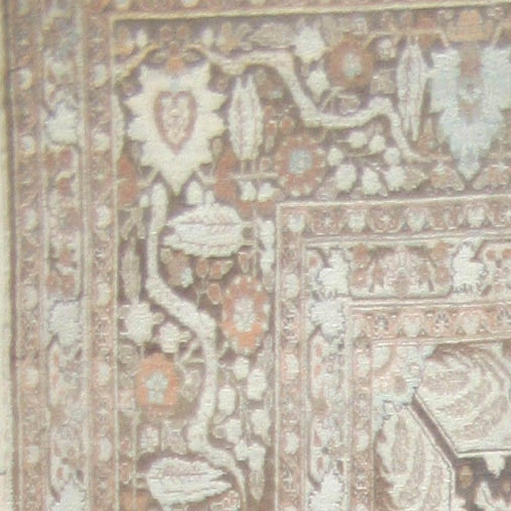 Antique Persian Tabriz Rug 8