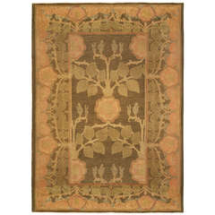 Art and Crafts Rug by Voysey