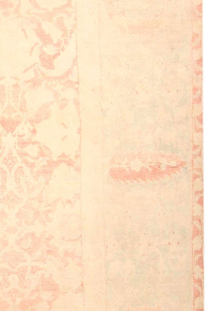 Indian Cotton Agra Rug For Sale At 1stdibs