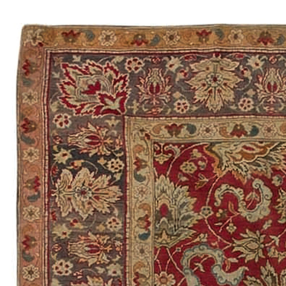 Antique Vintage Turkish Rugs: Antique Turkish Hereke Rug For Sale At 1stdibs