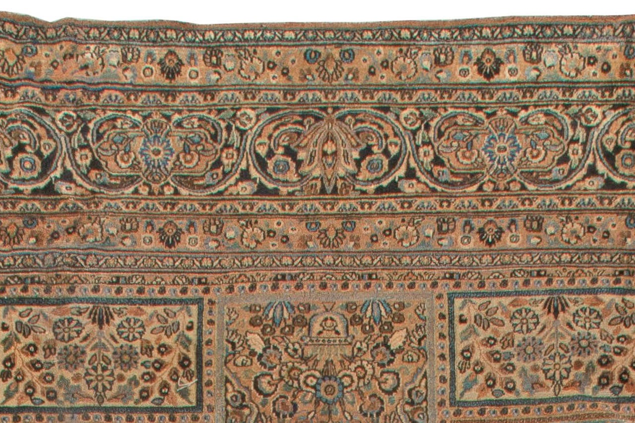 Antique Persian Meshad Rug For Sale At 1stdibs