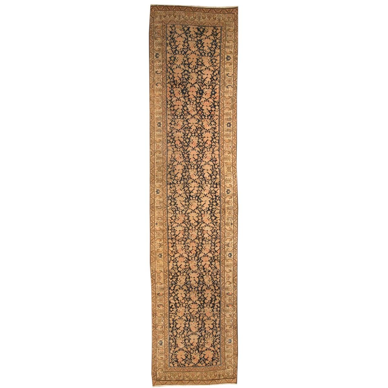 Antique Persian Malayer Runner Rug