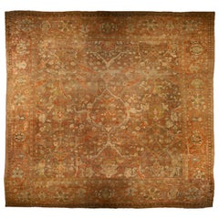 Antique Persian Sultanabad Carpet (size adjusted)
