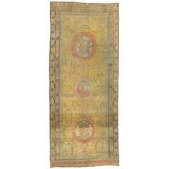 Antique Samarkand ( Khotan ) Rug