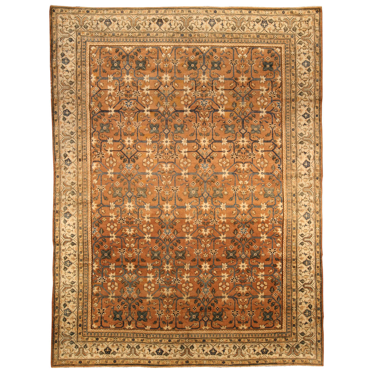 Antique Indian Rugs: Antique Indian Rug At 1stdibs