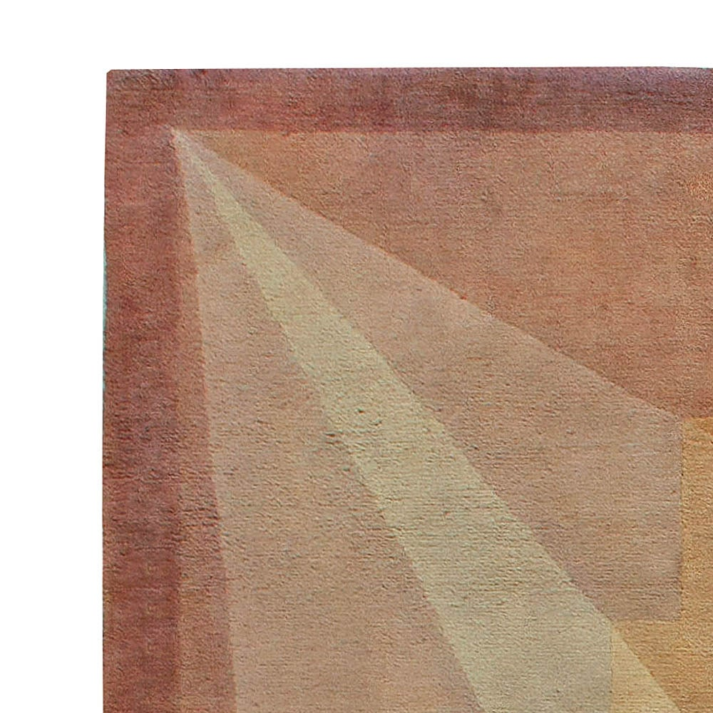 Vintage french art deco rug for sale at 1stdibs for Deco rugs carpet