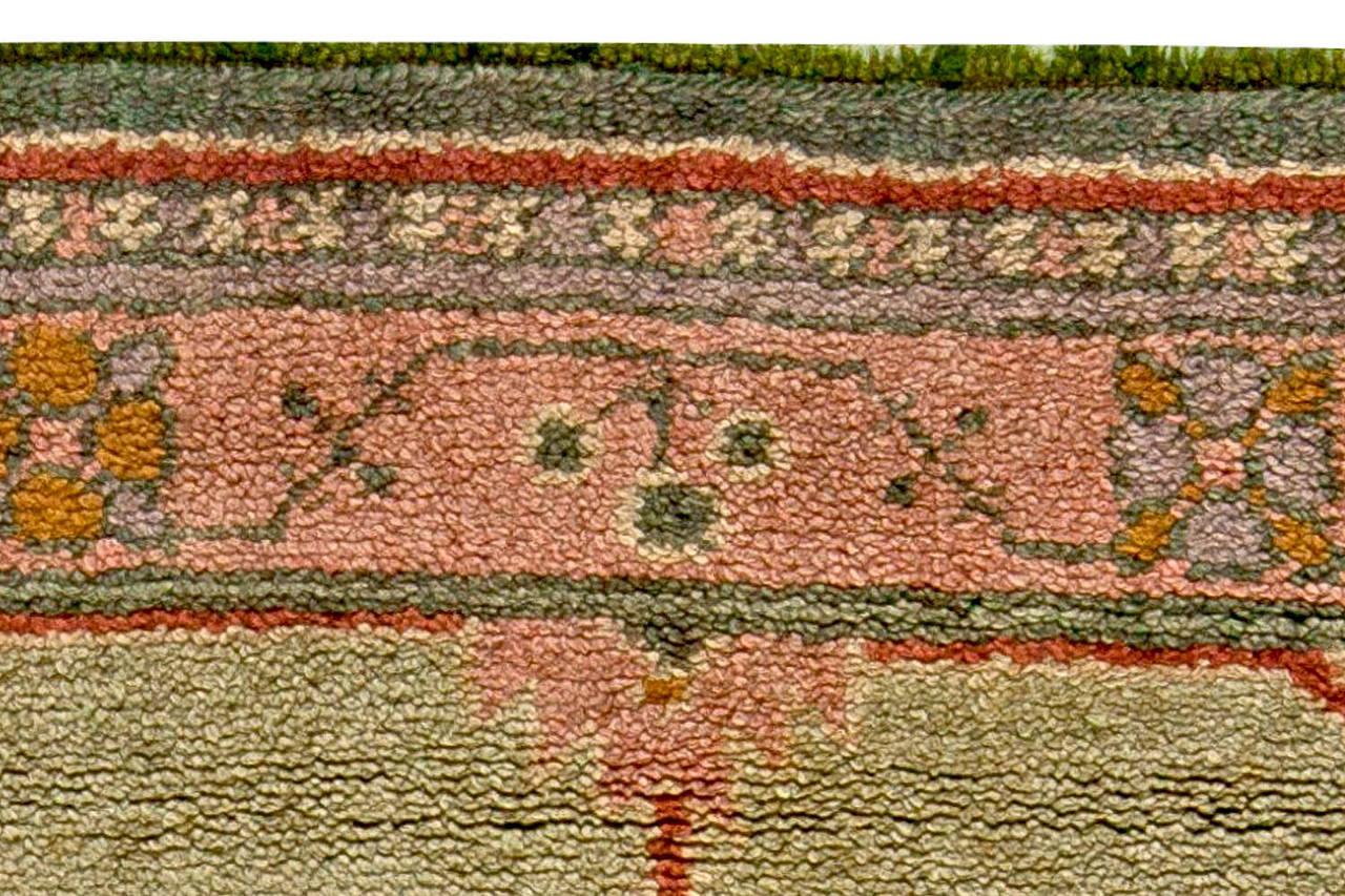 vintage arts and craft rug by voysey for sale at 1stdibs. Black Bedroom Furniture Sets. Home Design Ideas