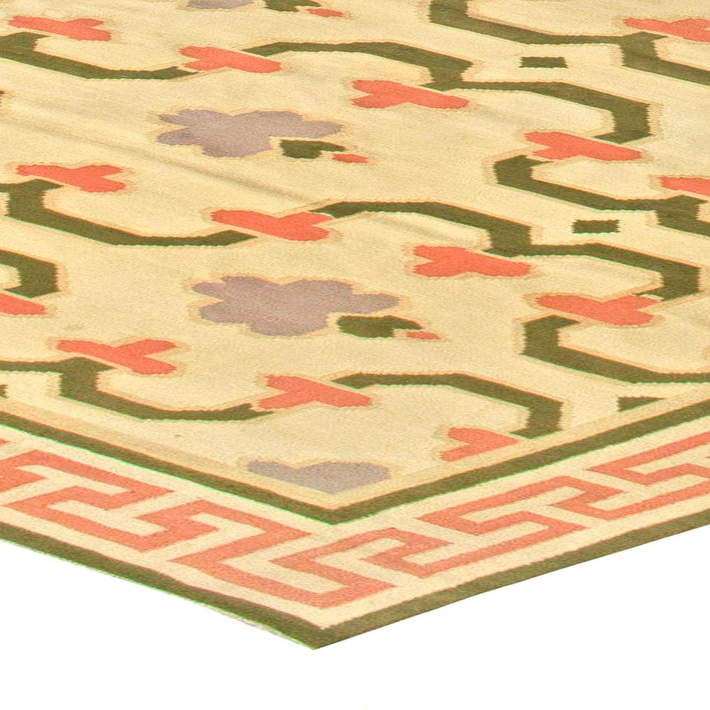 Vintage Indian Dhurrie Rug For Sale At 1stdibs