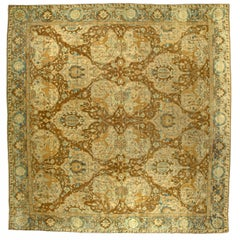 Large Antique Indian Carpet (size adjusted)