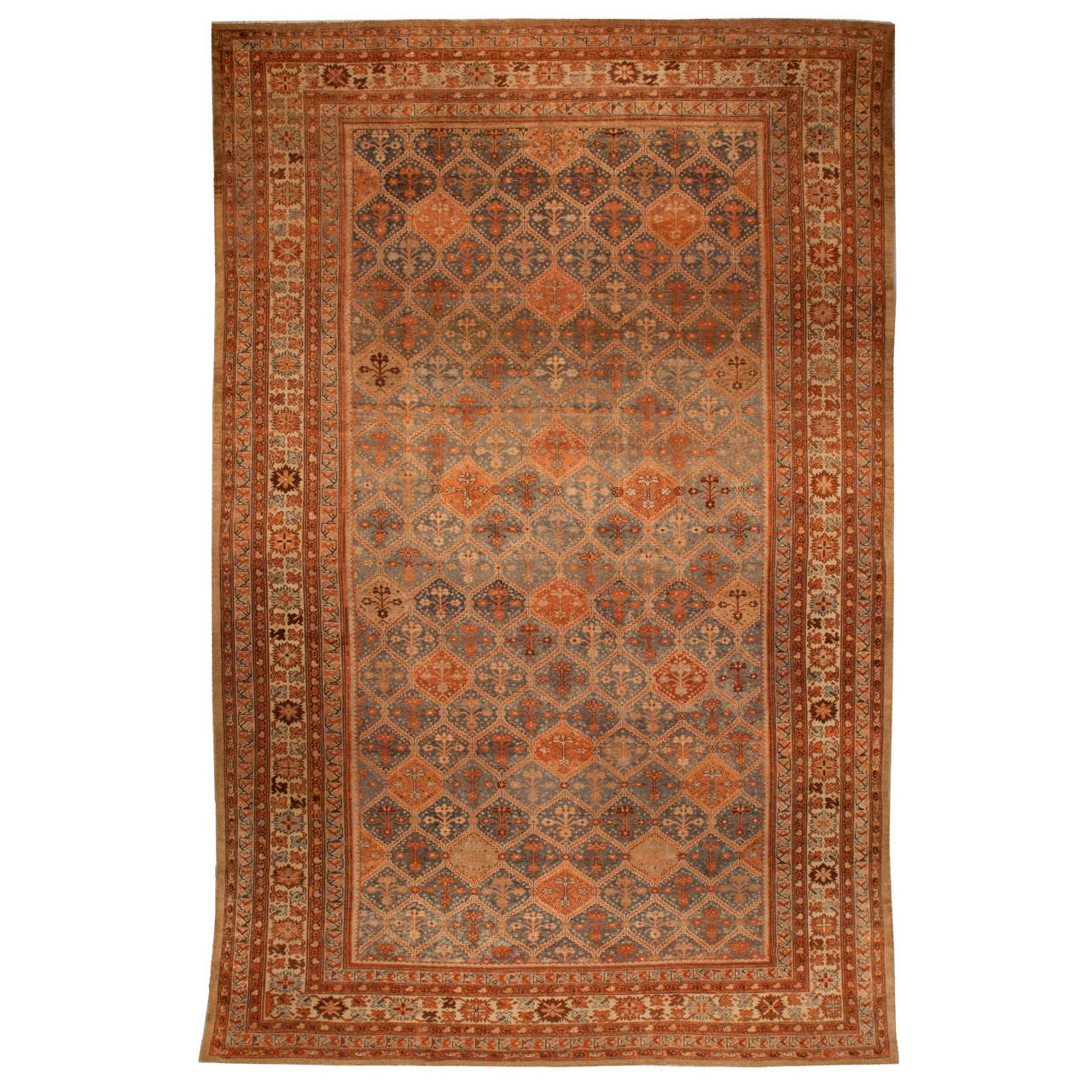 Persian Rugs For Sale: Antique Persian Malayer Runner Rug For Sale At 1stdibs