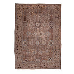 Large Antique Sultanabad Rug