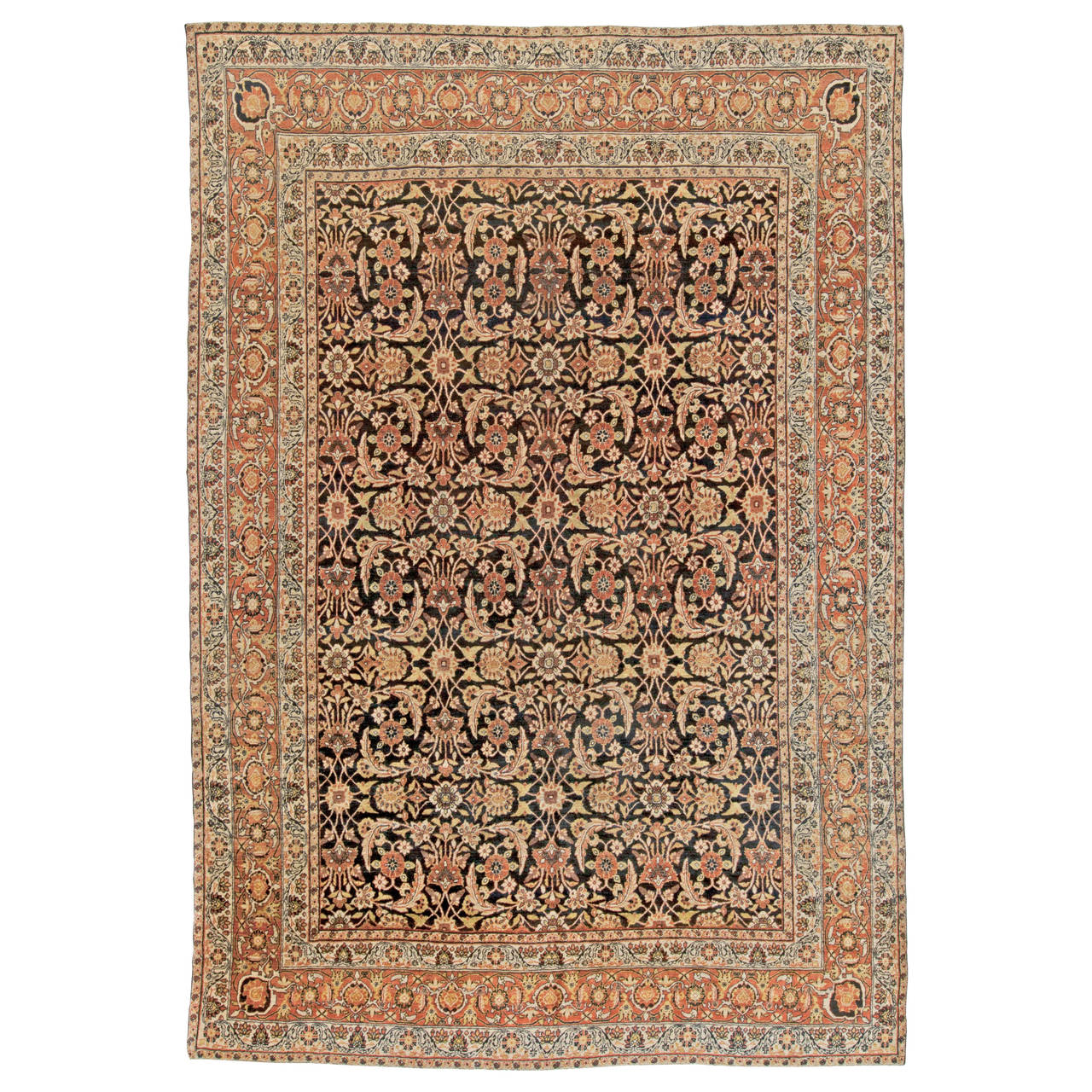 antique kirman rug at 1stdibs