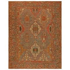 Antique Persian Baktiari Rug