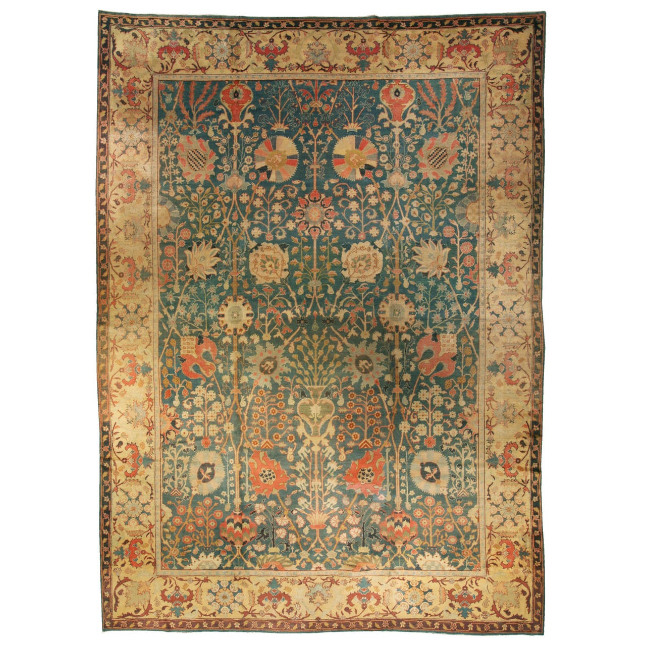 Antique indian rug for sale at 1stdibs for Home inspired by india rug