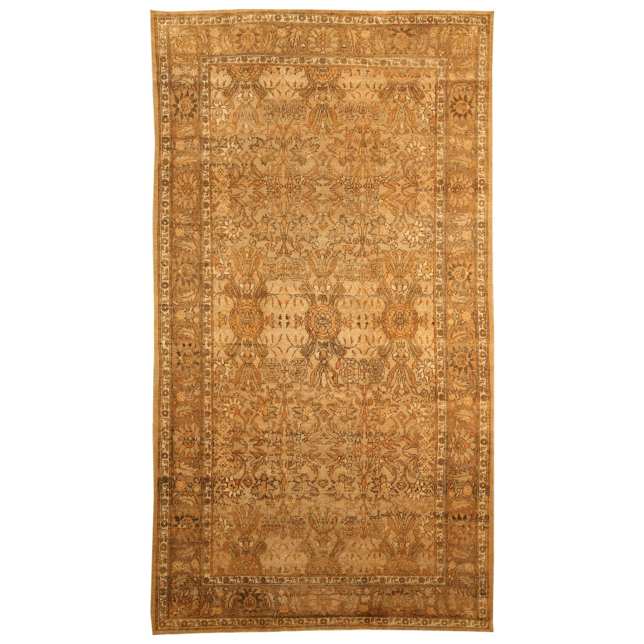 Antique Indian Amritsar Rug For Sale At 1stdibs