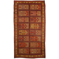 Antique Samarkand Khotan Rug