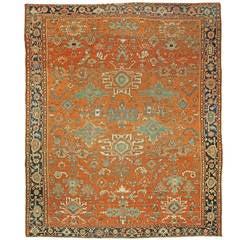 Antique Persian Heriz Rug For Sale At 1stdibs