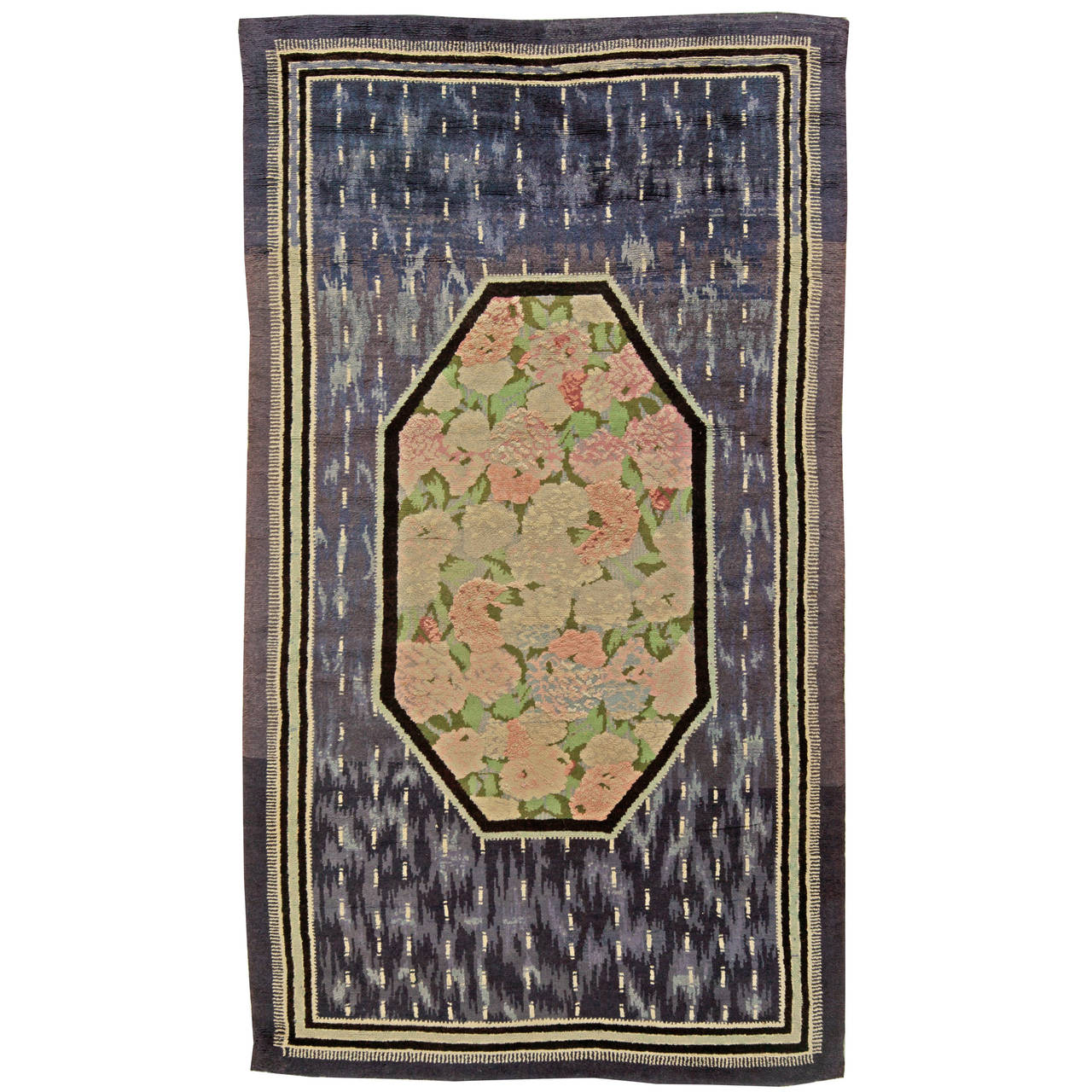 Vintage french art deco rug at 1stdibs for Deco rugs carpet