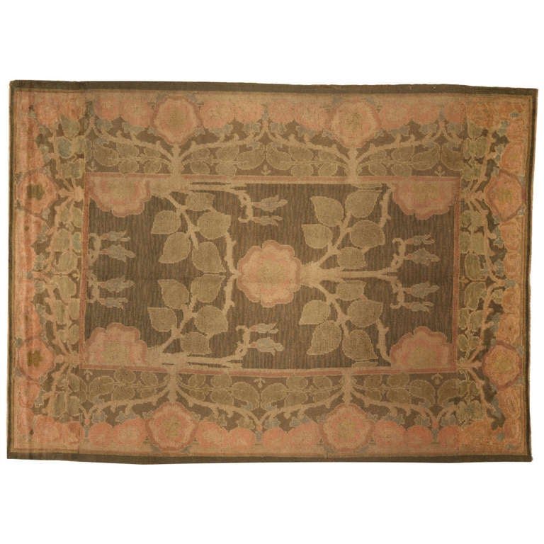 Arts And Crafts Rugs Pottery Barn: An Arts And Crafts By Voysey Rug At 1stdibs