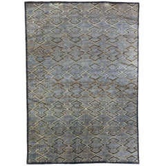 """""""Aztec"""" Rug Designed by Bunny Williams"""