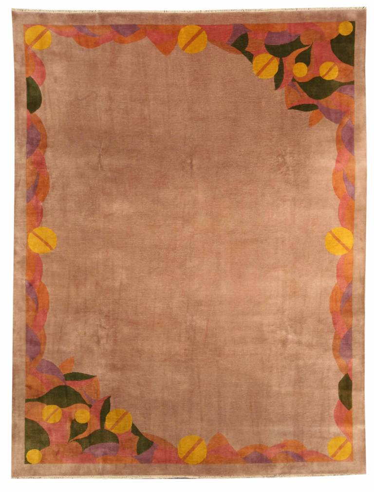 Art deco chinese rug at 1stdibs for Deco rugs carpet