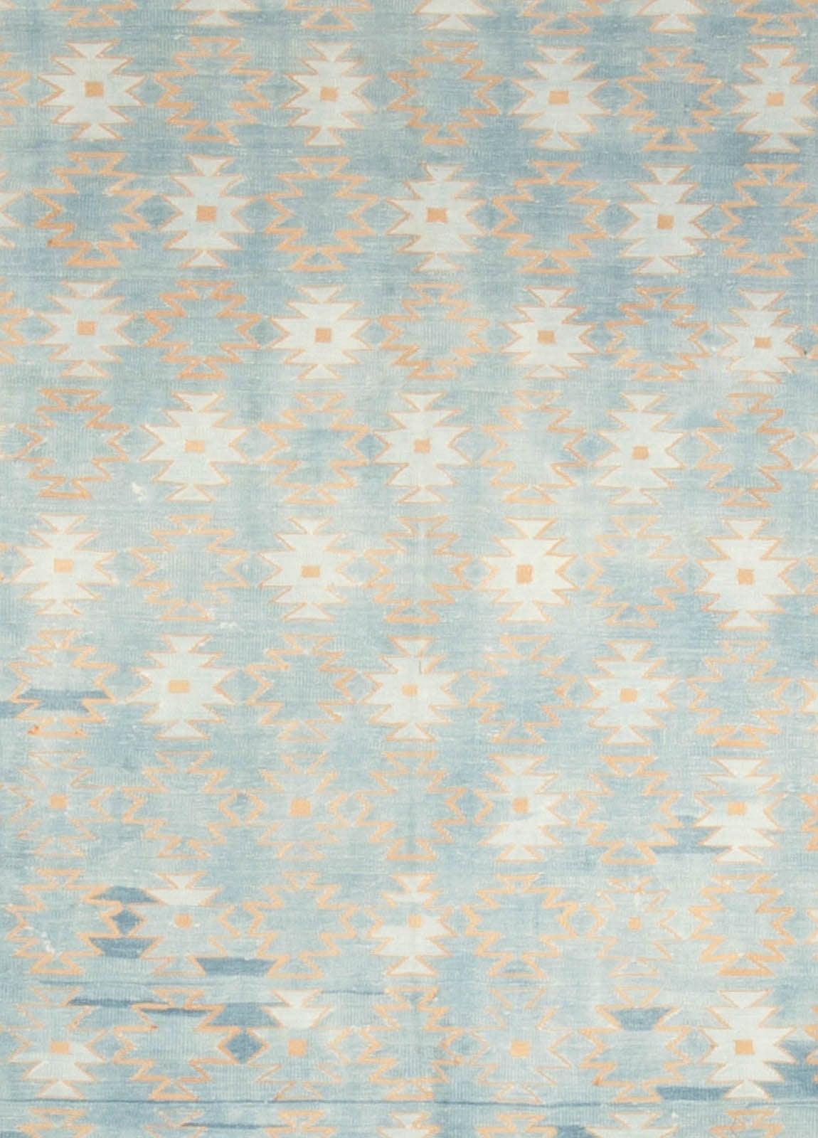 vintage dhurrie rug 3