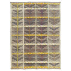 Swedish Flat-Weave Rug by Ingrid Dessau