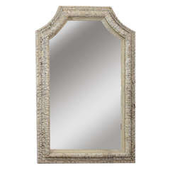 Italian 18th Century Carved Frame with Mirror-Plate