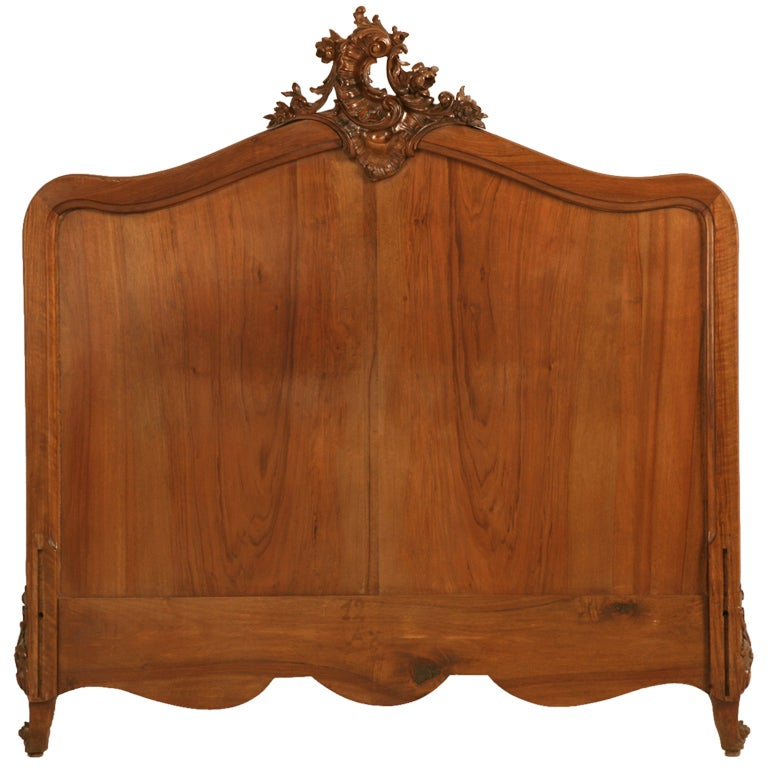 opulent furniture. opulent antique french rococolouis xv walnut headboard frame or 1 furniture