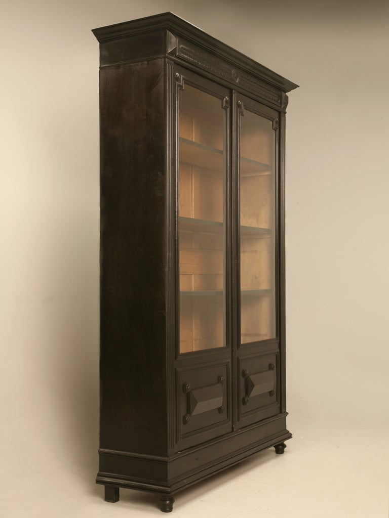 Antique French Napoleon III Bookcase or China Cabinet 2 - Antique French Napoleon III Bookcase Or China Cabinet At 1stdibs