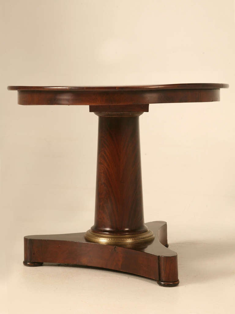Circa 1850 french gueridon inlaid table for sale at 1stdibs for Table gueridon