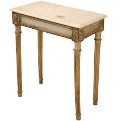 Circa 1840 All-Original French Louis XVI Console Table