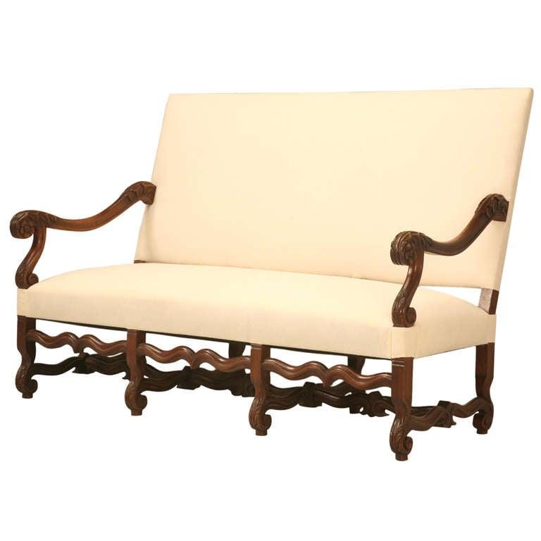 Circa 1890 french walnut louis xiv sofa at 1stdibs - Louis xiv sofa ...