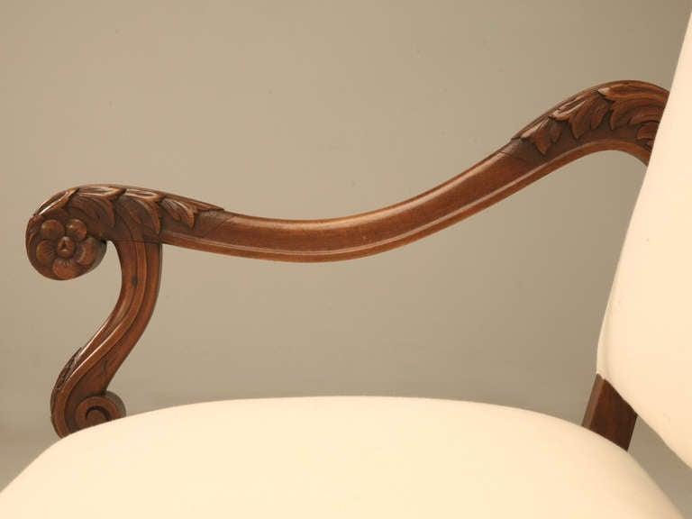 Circa 1890 French Walnut Louis XIV Sofa 5